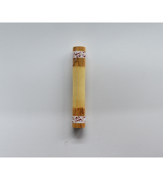 """Gouged & Profiled Bassoon Cane template """" F """" - Feroleto - 120mm"""